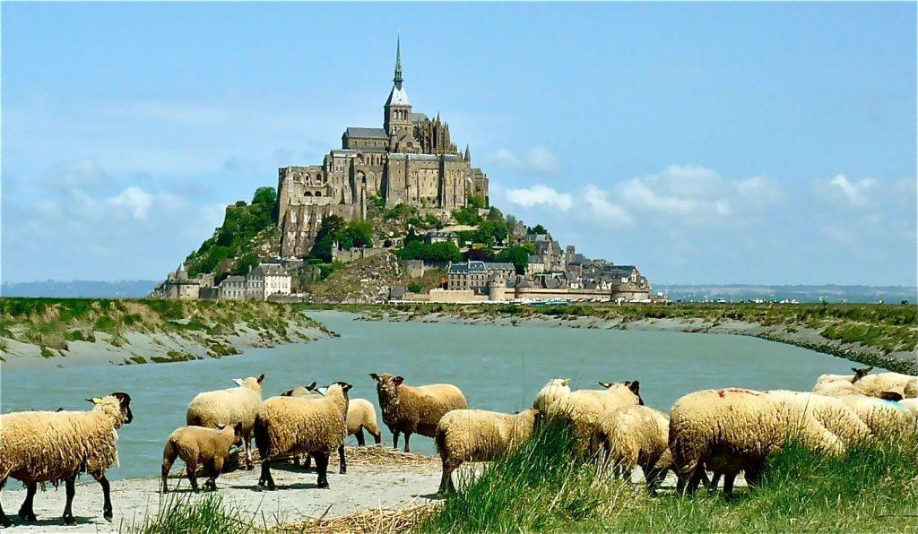 Замок-остров Мон Сен-Мишель