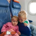 Полет на самолете с малышом: полезные советы