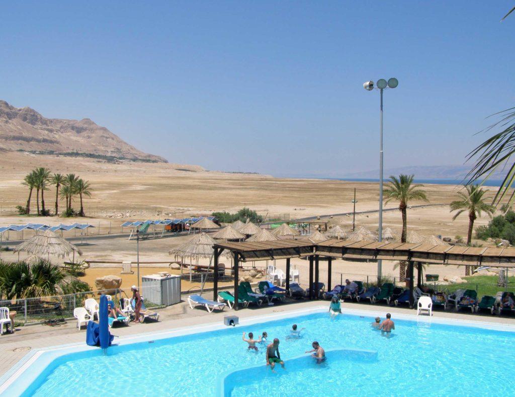Отдых на мертвом море в Эйн-Геди